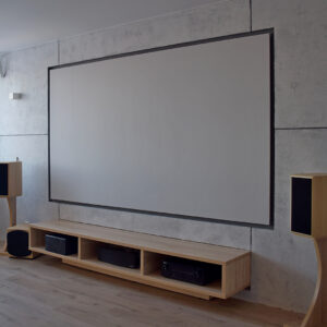 Домашний кинотеатр в частной квартире