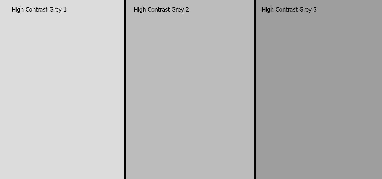 High Conrtast Grey Paint Screen